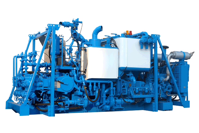 PCS-521B Auto Density Control Twin-Pump Cementing Skid