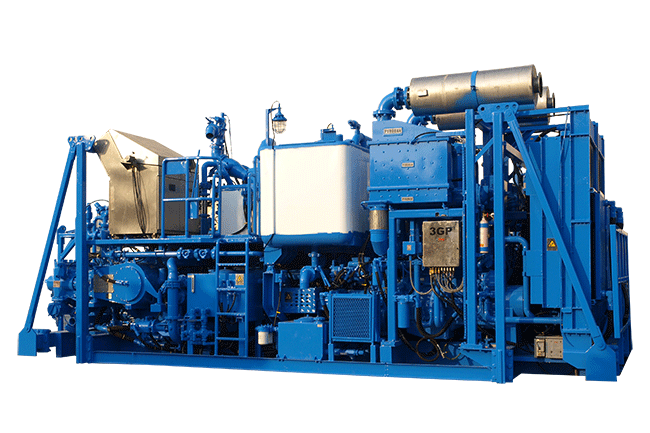 PCS-522A Zone-II Twin-Pump Cementing Skid