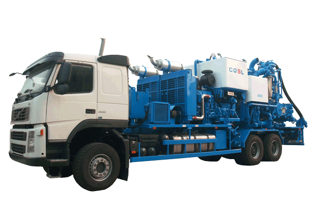 PCT-521A Double Pump Cementing Truck