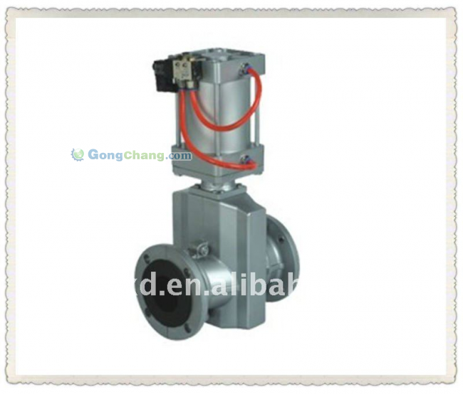 Aluminum Pneumatic Pipe Clamp Valves