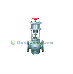 control valve for gas