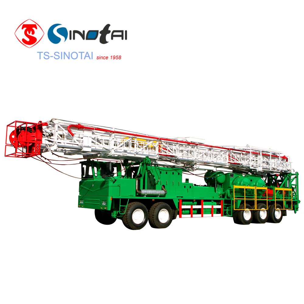 XJ550 (100t)workover & drilling rig