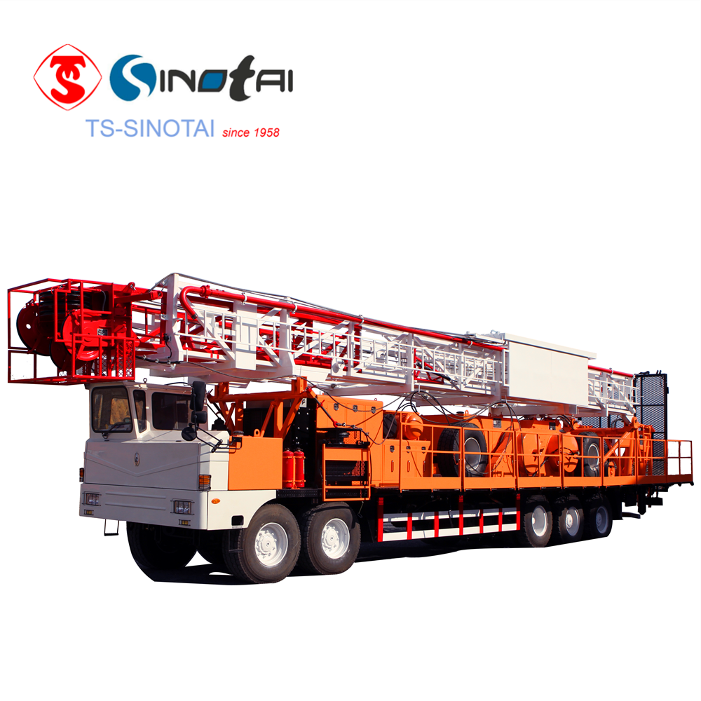 XJ450 (80t)workover & drilling rig